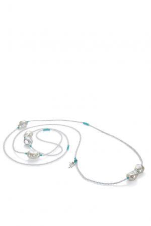 Ожерелье 181677 Nasonpearl. Цвет: белый
