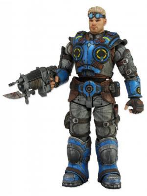 Фигурка Gears of War Judgment 7 Damon Baird Neca. Цвет: черный, светло-коричневый, синий, темно-серый