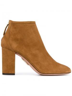 Ботинки Downtown Aquazzura. Цвет: коричневый