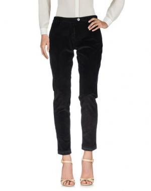 Повседневные брюки SHAFT. Цвет: темно-коричневый