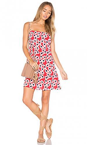 Платье bridget ROLLAS ROLLA'S. Цвет: красный