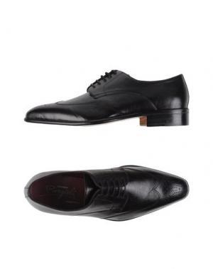 Обувь на шнурках BORGIOLI. Цвет: черный