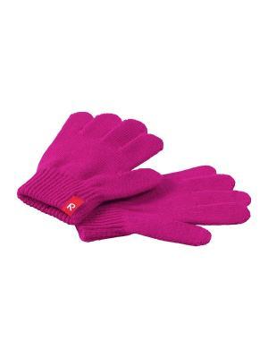 Перчатки Reima. Цвет: малиновый, розовый