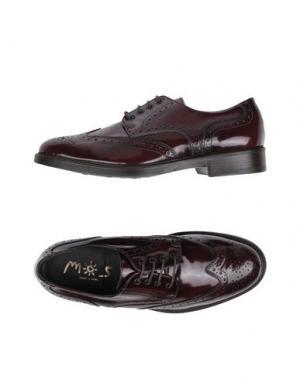 Обувь на шнурках MOS. Цвет: красно-коричневый