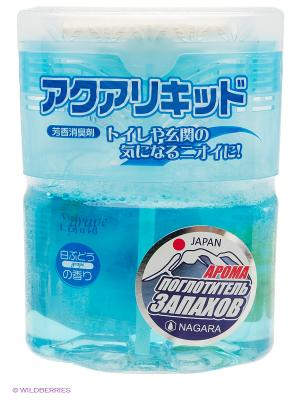 Nagara Aqua liquid Арома-поглотитель запахов Белый виноград 200 мл. Цвет: голубой