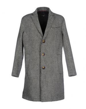 Пальто QUINTESSENCE. Цвет: серый