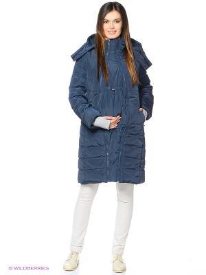 Куртка Mum`s Era. Цвет: темно-синий