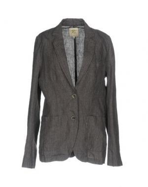 Пиджак LOCAL APPAREL. Цвет: свинцово-серый