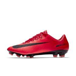Футбольные бутсы для игры на твердом грунте  Mercurial Vapor XI Nike. Цвет: красный