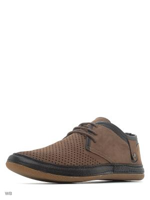 Туфли CARLO BELLINI. Цвет: бежевый, коричневый