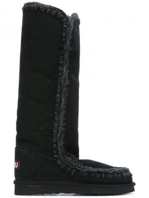 Высокие сапоги Eskimo Mou. Цвет: чёрный