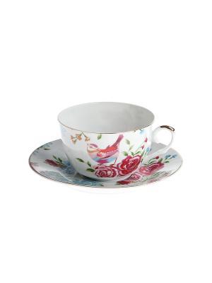 Набор чайный 2 предмета 250 мл. PATRICIA. Цвет: розовый