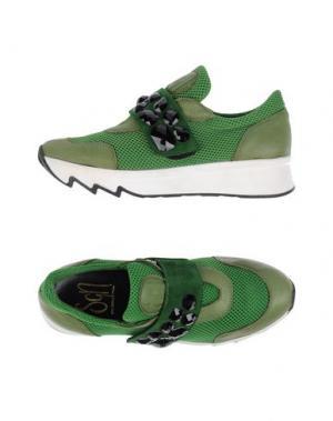 Низкие кеды и кроссовки SGN GIANCARLO PAOLI. Цвет: зеленый