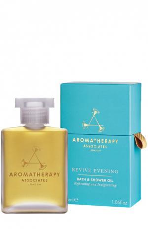 Восстанавливающее масло для ванны Revive Evening Bath & Shower Oil Aromatherapy Associates. Цвет: бесцветный