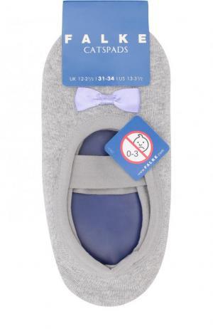 Носки с бантами Falke. Цвет: серый