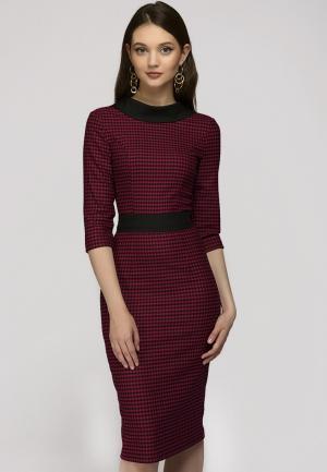 Платье 1001dress. Цвет: красный