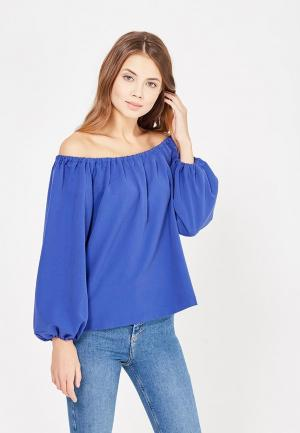 Блуза Self Made. Цвет: синий