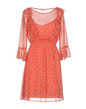 Короткое платье KARTIKA. Цвет: фуксия