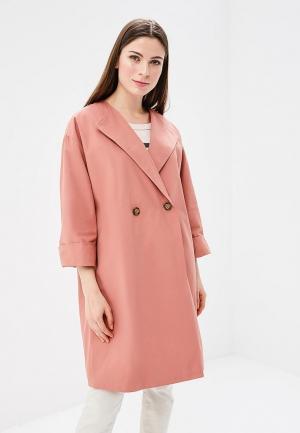 Плащ Baon. Цвет: розовый