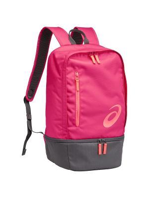Рюкзак TR CORE BACKPACK ASICS. Цвет: розовый, серый