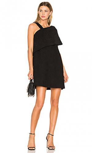 Платье zaha Paper London. Цвет: черный