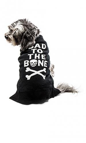 Свитер для собаки bad to the bone 360 Sweater. Цвет: черный