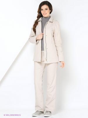 Спортивный костюм KARINA Maritta. Цвет: бежевый