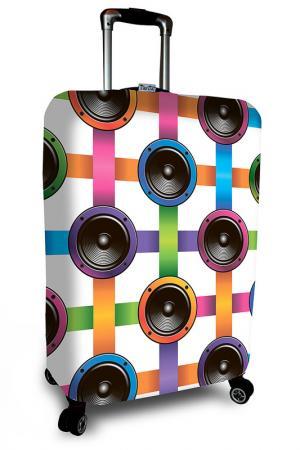 Чехол на чемодан SOVA COVER. Цвет: динамики