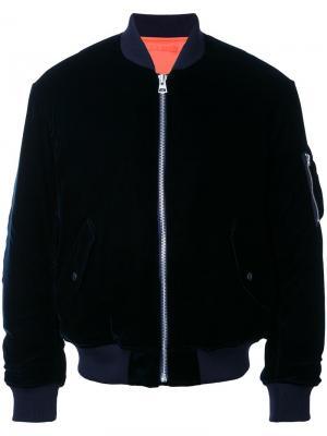 Куртка-бомбер MA-1 Mr. Gentleman. Цвет: синий