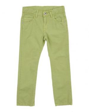 Повседневные брюки EDDIE PEN. Цвет: кислотно-зеленый