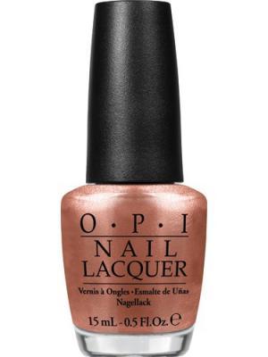 Opi Лак для ногтей Worth a Pretty Penne, 15 мл. Цвет: бронзовый