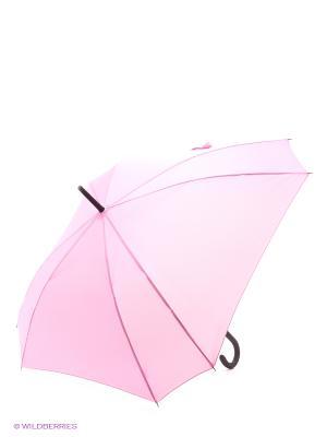 Зонт трость RAINDROPS. Цвет: розовый