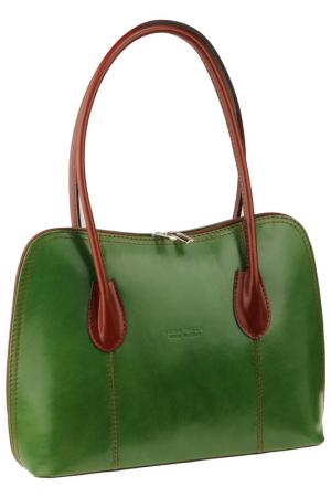 Bag MATILDA ITALY. Цвет: green and brown
