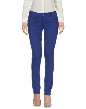 Повседневные брюки KITTE. Цвет: фиолетовый