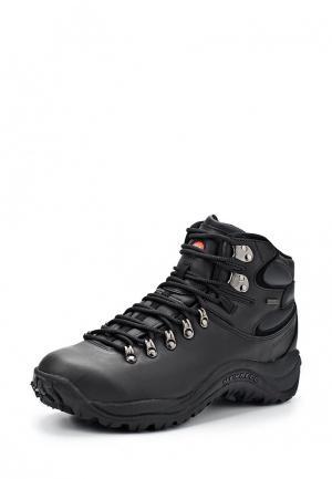 Ботинки трекинговые Merrell. Цвет: черный