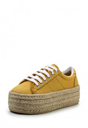 Ботинки Corina. Цвет: желтый