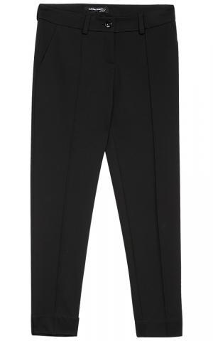 Женские черные брюки La reine blanche