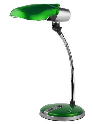 Настольный светильник NE-301-E27-15W-GR Эра. Цвет: зеленый