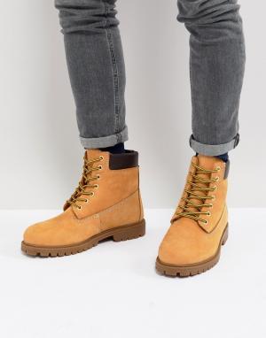 Dickies Ботинки на шнуровке. Цвет: рыжий
