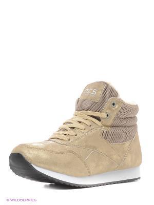 Ботинки HCS. Цвет: бежевый
