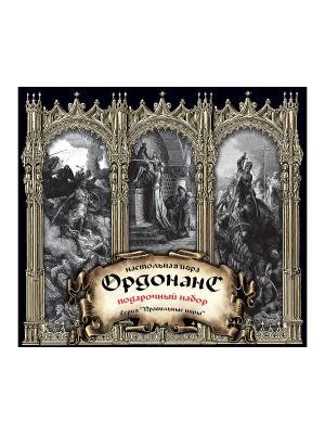 Настольная игра Ордонанс (подарочный набор) Правильные игры. Цвет: серебристый