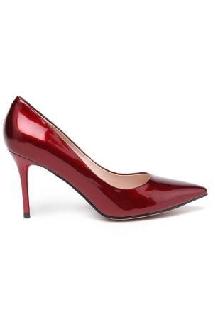 Туфли Milana. Цвет: красный