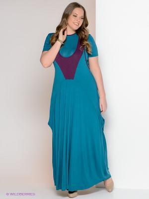 Комплект МадаМ Т. Цвет: бирюзовый, темно-фиолетовый