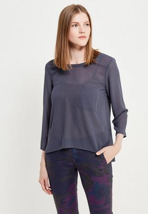 Блуза Silvian Heach. Цвет: серый