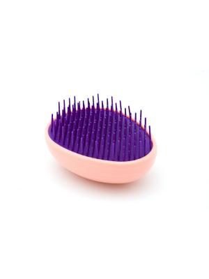 Распутывающая расческа Beautypedia Compact (розовая). Цвет: сиреневый, розовый