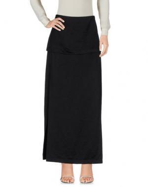 Длинная юбка ZERO + MARIA CORNEJO. Цвет: черный