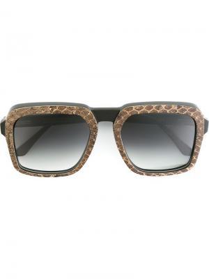 Солнцезащитные очки Racon Ralph Vaessen. Цвет: коричневый