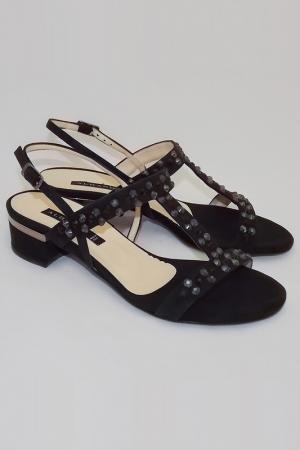 Босоножки Albano. Цвет: черный