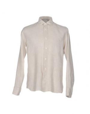 Pубашка DANOLIS. Цвет: бежевый