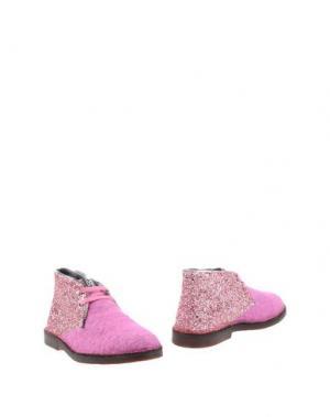 Полусапоги и высокие ботинки SGN GIANCARLO PAOLI. Цвет: фуксия